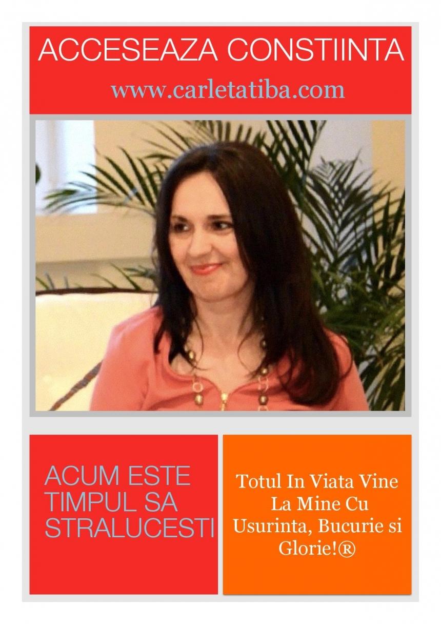 5 zile de schimbari DINAMICE, cu Dr. Carleta Tiba! Access Bars, Fundatie si Nivel 1, din 27 martie
