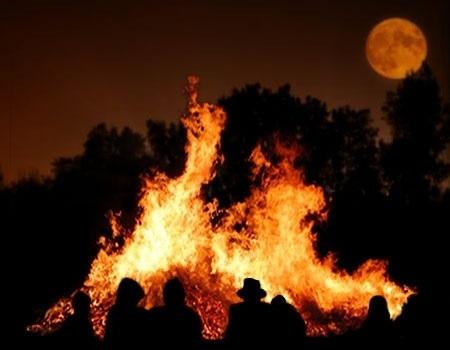 Ceremonie de purificare si eliberare, la Luna Plina
