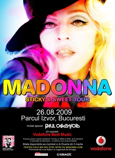 Concertul anului- Madonna