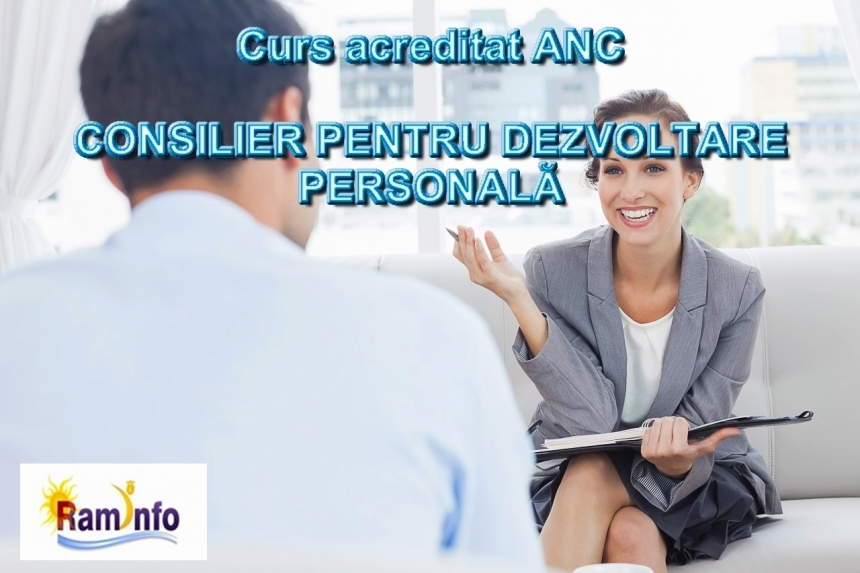 Curs CONSILIER PENTRU DEZVOLTARE PERSONALA. Din 26 februarie, in Bucuresti