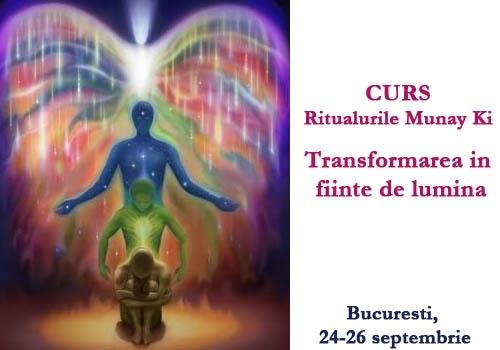 """Curs """"Ritualurile Munay Ki: Transformarea in fiinte de lumina"""", Bucuresti, 24-26 septembrie 2010"""