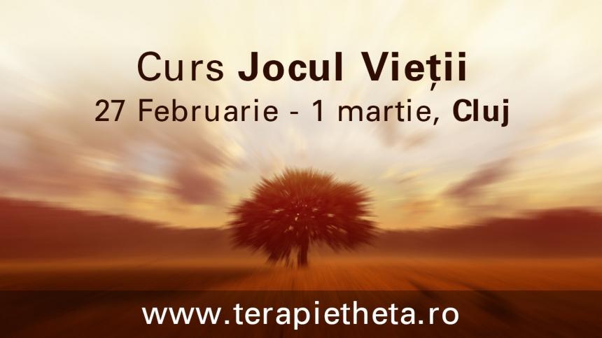 JOCUL VIETII curs ThetaHealing® la CLUJ, 27 februarie- 1 martie 2015