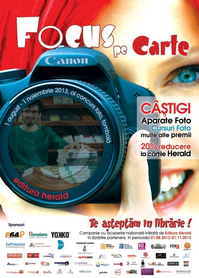 Lansarea campaniei TE AŞTEPTĂM ÎN LIBRĂRIE! 2013