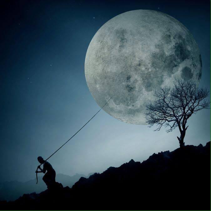 Luna Plina in Gemeni, 25 noiembrie 2015. Vina si Frica