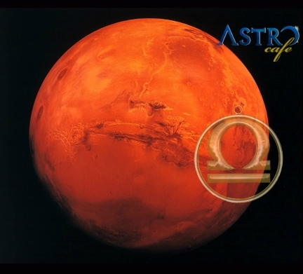 Marte in Balanta, 12 noiembrie 2015- 3 ianuarie 2016. Tango Cosmic