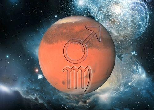 Marte în Fecioară, vestitorul celor 544 de trepte