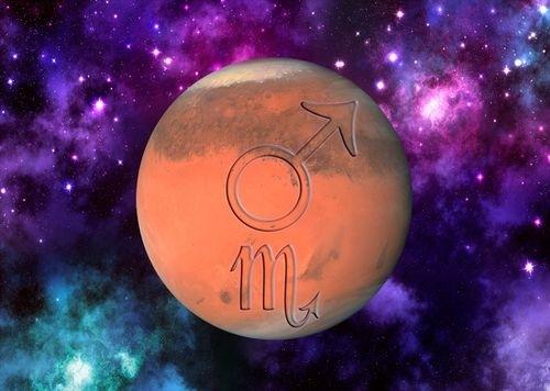 Marte in Scorpion, 3 ianuarie- 6 martie 2016. Explozia silentioasa