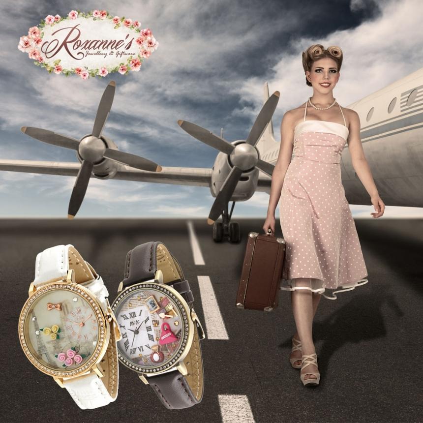 O colectie impresionanta de ceasuri fashion handmade 3D, in premiera in Romania!