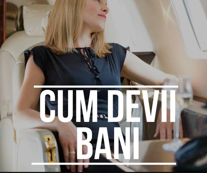 "Serie 4 telecall-uri ""Cum sa Devii Bani"", cu Dr. Carleta Tiba"