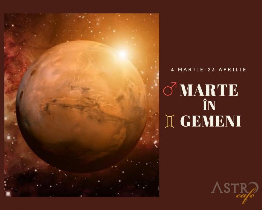 Marte in Gemeni